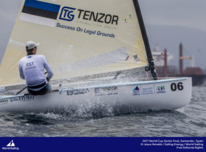 Deniss Karpak. Foto autor: Jesus Renedo / Sailing Energy / World Sailing