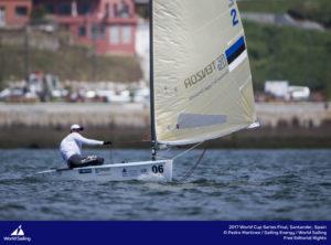 Deniss Karpak. Foto autor: Pedro Martinez / Sailing Energy / World Sailing