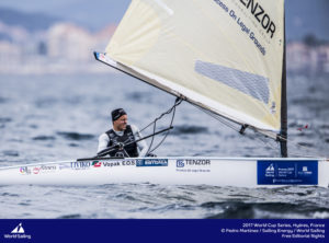 Deniss Karpak. Foto autor: Pedro Martinez/Sailing Energy/World Sailing