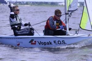 Markus Lilienthal ja Uko Tiidemann (RS Feva klass). Foto autor: Riina Ramst