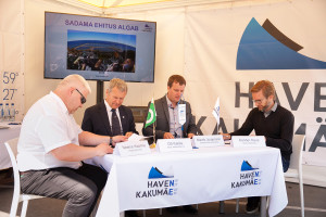 vasakult: Neeme Kaarma, Ott Kallas, Marek Jürgenson, Sander Kaus. Foto autor: Oleg Harchenko