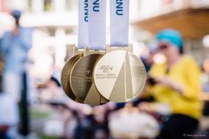 Muhu Väina regati medalid. Foto: Janis Spurdzins