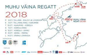 Muhu Väina regatt 2018
