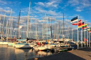 Muhu Väina regatt Roomassaare sadamas. Foto autor: Piret Salmistu