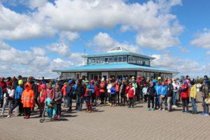 Purjetajad Saaremaa Merispordi Seltsi regati avamisel. Foto autor: Riina Ramst