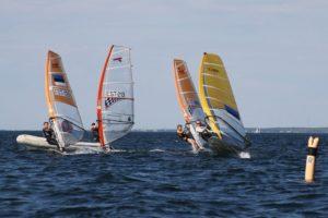 Raceboardid avamerel Noblessneri sadama lähistel