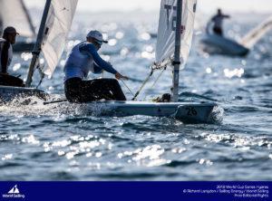 Karl-Martin Rammo. Foto: Richard Langdon/Sailing Energy/World Sailing