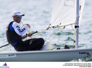 Karl-Martin Rammo. Foto autor: Pedro Martinez / Sailing Energy / World Sailing