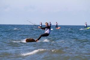 Fotol: Ranno Rumm. Foto autor: Formula Kite European Championships