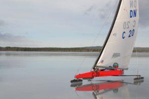 Rasmus Maalinn Foto: DN Ice Sailing Lithuania