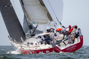 Olympic EST463 (X-41 mod) Avamerepurjetamise MMil Haagis  FOTO: © 2018 Sander van der Borch / The Hague Offshore Sailing World Championship