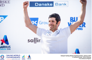 Pavlos Kontides (CYP) - Male Rolex World Sailor of the Year 2018