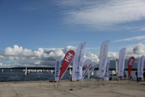 Optimist klass merelt Lohusalu sadamasse naasmas. Foto autor: Riina Ramst