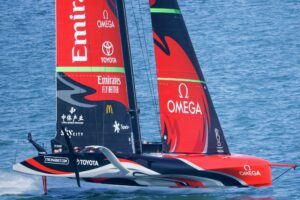 Emirates Team New Zealand. Foto: ACE - Studio Borlenghi