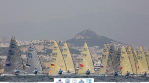 2019. aasta Finn klassi lahtised täiskasvanute ja juunioride Euroopa meistrivõistlused Ateenas  FOTO: Robert Deaves