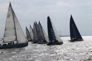 ORC I grupi jahid Kuivastu-Pärnu etapi stardis.  Foto: Piret Salmistu