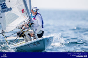 Genoa, Italy is hosting sailors for the third regatta of the 2019 Hempel World Cup Series from 15-21 April 2019. More than 700 competitors from 60 nations are racing across eight Olympic Events.©JESUS RENEDO/SAILING ENERGY/WORLD SAILING 18 April, 2019.